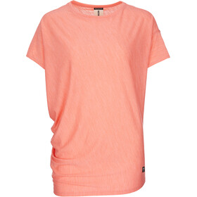 super.natural W's Yoga Loose T-Shirt Georgia Peach Melange